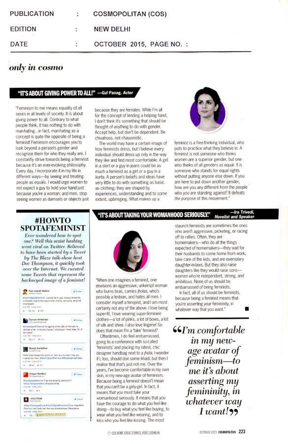 Cosmopolitan - October, 2015(2)