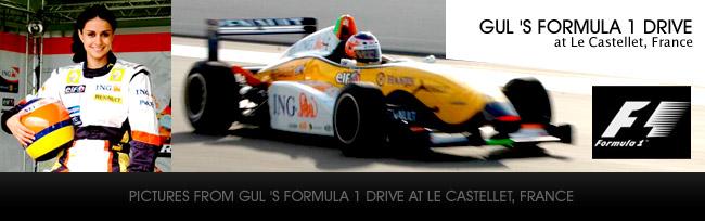 guls formula 1 drive at france